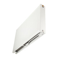 Thermrad Super-8 Compact radiator, type 22, hoogte 200 mm