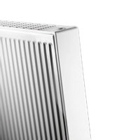 Thermrad Vertical Compact radiator, type 22, hoogte 2000 mm