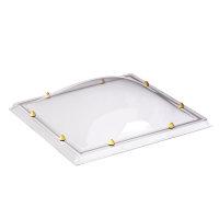 Skylux acrylaat lichtkoepel, 1-wandig, helder