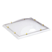 Skylux acrylaat lichtkoepel, 2-wandig, helder