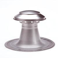 Coxvent aluminium ontluchting voor plat dak, enkelwandig