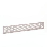 Aluminium ventilatiestrip, wit