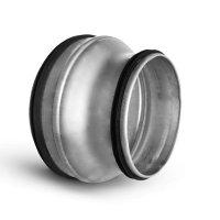 Spiraliet verloopstuk, met epdm ring