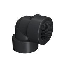 Self-Seal pp knie 90°, 2x binnendraad