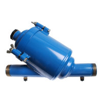 Amiad stalen vloeistoffilter exclusief cilinderzeef