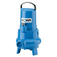 Homa dompelpomp voor vuilwater met vaste stoffen