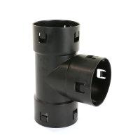 Pp T-stuk 90° voor drainagebuis