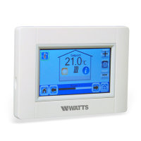Watts Vision touchscreen unit