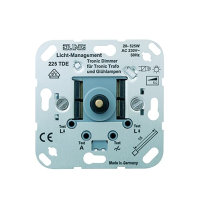 Jung® Tronic draaidimmer