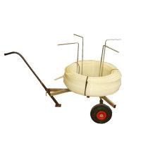 Afrolwagen voor vloerverwarmingsbuis