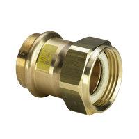 Viega Profipress gas schroefkoppeling met SC-Contur