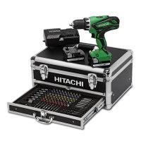 Hitachi snoerloze boor-schroefmachine, complete set