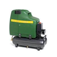 Airmec draagbare olievrije zuigercompressor