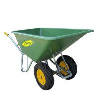 Tufx kruiwagen met kunststof bak, twee wielen