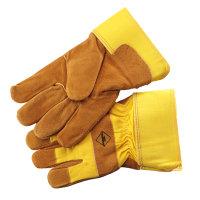 SafeWorker werkhandschoenen, super rundsplit leder