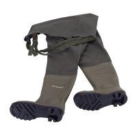 Dunlop laarzen, type Protomastor, waadbroek, full safety