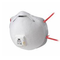 3M stofmasker met ventiel, FFP3