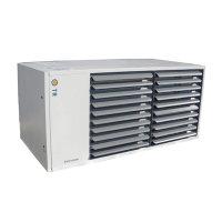 Direct aardgasgestookte luchtverwarmer, TR-serie