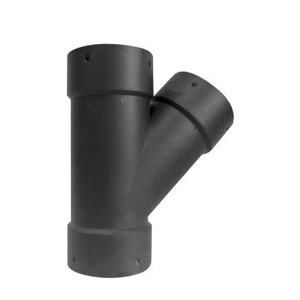 Klik T-stuk 45°, voor drainagebuis, pp, 60 mm  default 435x435