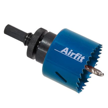 Airfit gatenboor t.b.v. pp schroefaftakkingen, compleet Ø 57 mm  default 435x435
