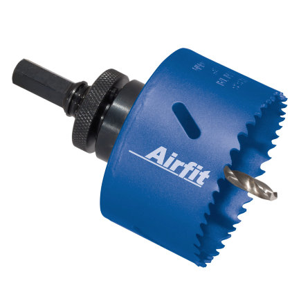 Airfit gatenboor t.b.v. pvc klemzadel incl. aansluiting 110 mm, compleet Ø 106 mm