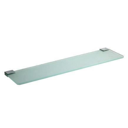Eris planchet met glasplaat, chroom, 520 x 125 x 14 mm  default 435x435