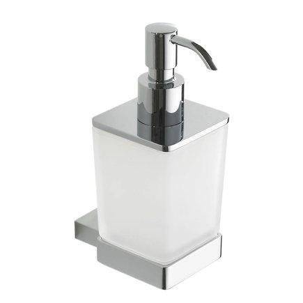 Eris zeepdispenser, chroom, 86 x 60 x 95 mm  default 435x435