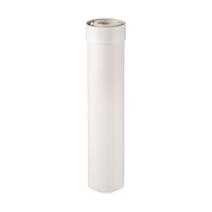 Ubbink UbiFit verlengbuis, concentrisch, push-fit, 60/100 mm, l = 500 mm