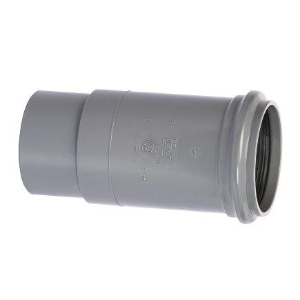 Pipelife pvc expansiemof, uitwendig lijm x manchet, grijs, KOMO, 160 mm