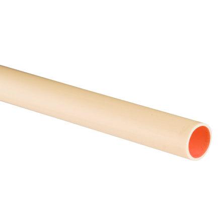 Pvc elektrabuis, crème, 16 mm, gladde uitvoering, l = maximaal 4 m, low friction
