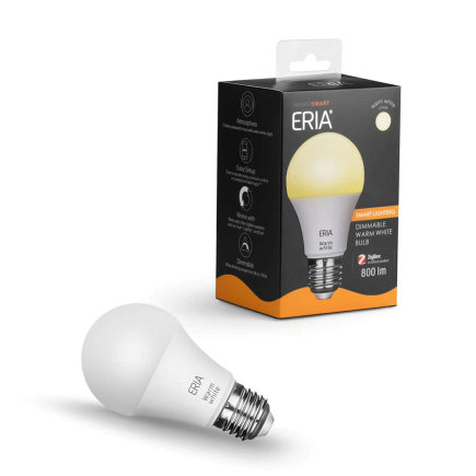 AduroSmart ERIA® Warm White lamp, E27 fitting