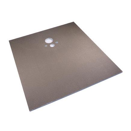 VIDI®board - PRO, toiletplaat, l x b x d = 1300 x 1200 x 20 mm