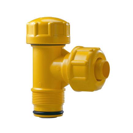 "Pipelife slagvaste pvc gasaansluitstuk, Gastec QA, SDR 11, 32 mm x 1½"""