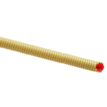 Pvc Flexivolt 'Low Friction' elektrabuis, crème, 19 mm, flexibel, l = 20 m