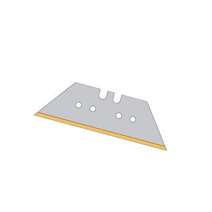 Promat trapeziummes, titanium, 61 x 18,7 x 0,65 mm, verpakking à 10 stuks
