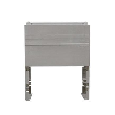 Geyer ingraafsokkel, t.b.v. polyesteren kast, lichtgrijs, GR1, 950 x 785 x 310 mm  default 435x435