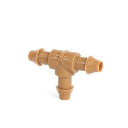 Netafim T-Stück für Tropfbewässerungsschlauch 8mm, VE: 10Stück