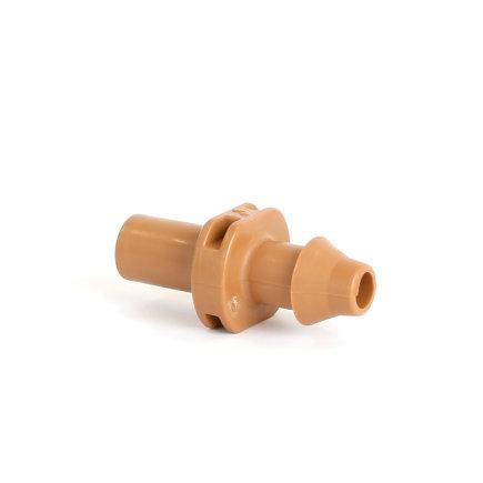 Netafim Steckverbinder mit Schlauchtülle für Tropfbewässerungsschlauch, 8mm, VE: 10Stück