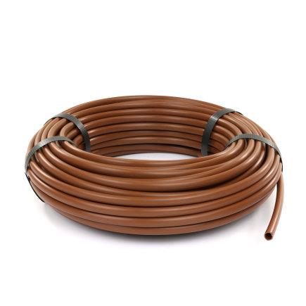 Netafim PE-Schlauch für Tropfbewässerung, L=30m, braun, 8mm