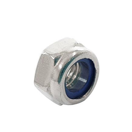 Borgmoer met nylon ring, DIN 985, rvs, M5  default 435x435
