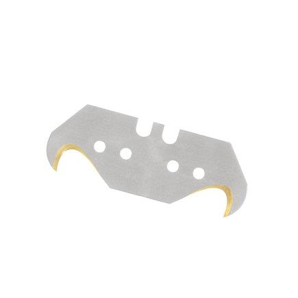 Promat haakmes, titanium, 48,2 x 18,7 x 0,65 mm, verpakking à 50 stuks