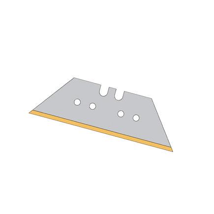 Promat trapeziummes, titanium, 61 x 18,7 x 0,65 mm, verpakking à 50 stuks