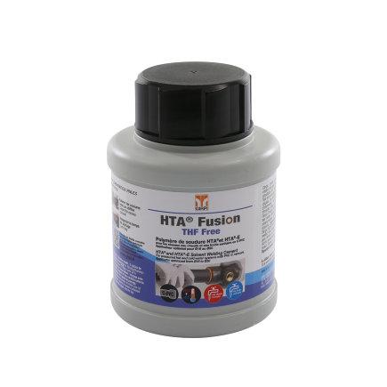 HTA Fusion cpvc lijm, koudelas-polymeer, bus à 250 ml, met kwast