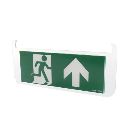 Adurolight® pictogram bord noodverlichting, acrylaat, pijl naar boven