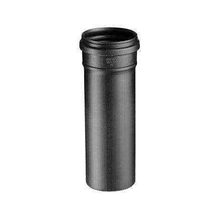 Ubbink verlengbuis luchttoevoer, pp, zwart, 100 mm, l = 3000 mm