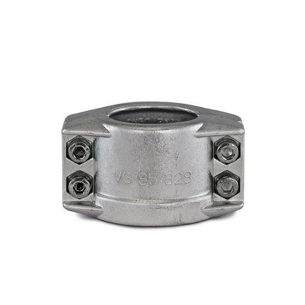 Spannloc Klemmschalen, Aluminium, 88x 93 mm, für 75-mm-Schlauch