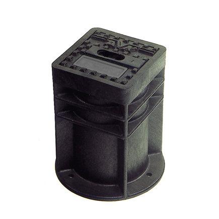 AVK Straßenkappe für Absperrarmatur, Serie 80/42, Typ Purdie, 145x145x235mm, ohne Aufschrift