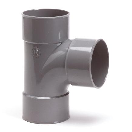 Pipelife pvc T-stuk 90°, 3x inwendig lijm, KOMO, 110 mm