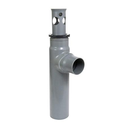 Nicoll pvc zandvanger voor afvoergoot Kenadrain HD100, 110 mm, hoge uitlaat  default 435x435