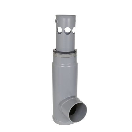 Nicoll pvc zandvanger voor afvoergoot Kenadrain HD150, 160 mm, lage uitlaat